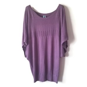 New Guess by Marciano Dress oversized sweater sz S
